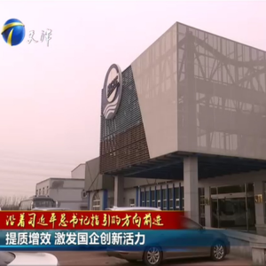 渤化集团创新雷火电竞官网基地接受天津电视台专题采访