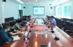 渤化集团创新雷火电竞官网基地组织企业与达索配方设计系统团队交流对接
